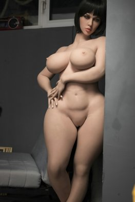163cm (5ft4') H-cup Thicc and Fat Butt Sex Doll with Big Curves