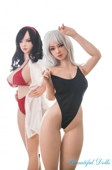 Sino Hazel and Helga twins Silicone sex doll